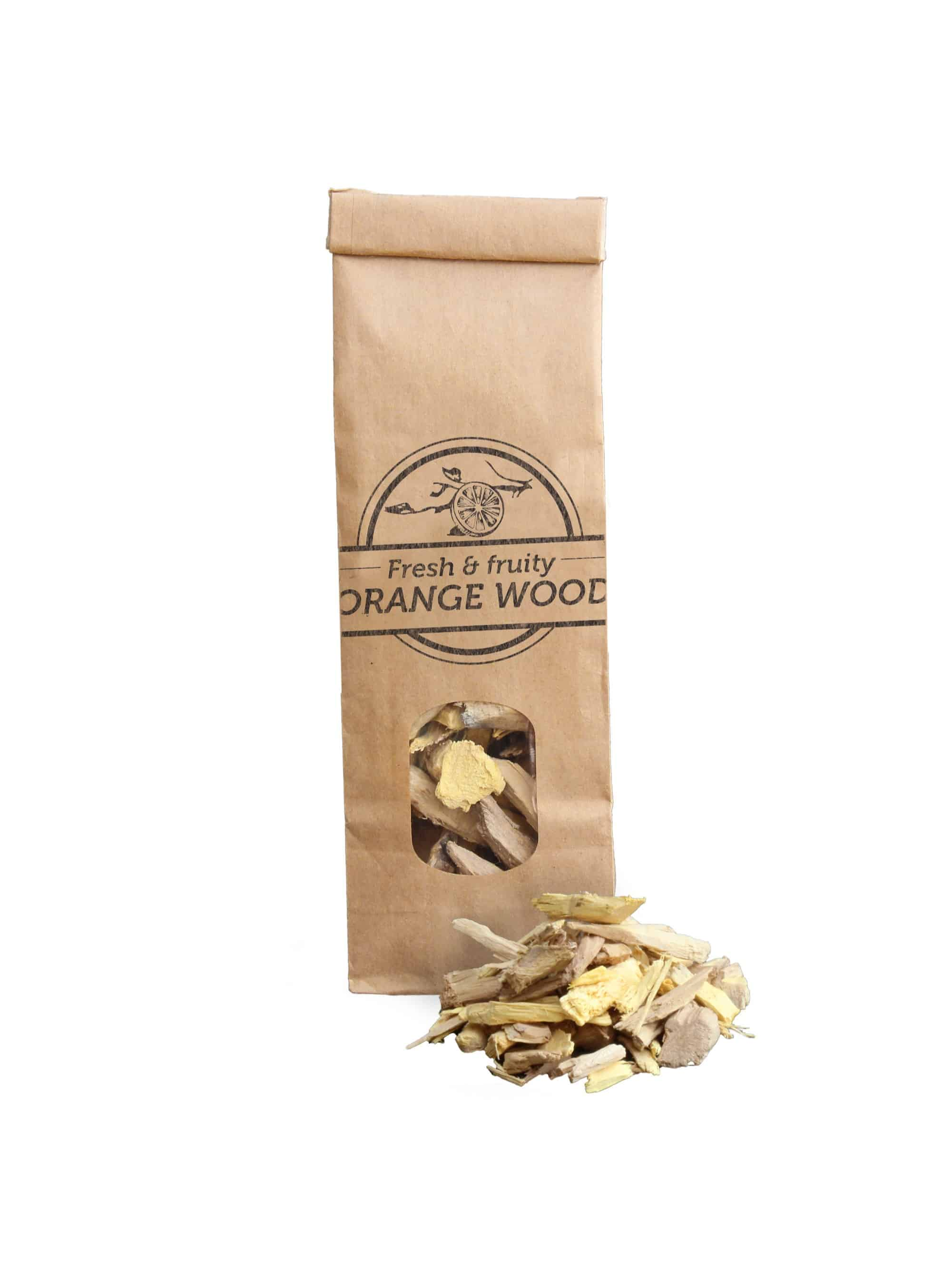 SOW Orange Wood Smoking Chips Small Pack Nº3