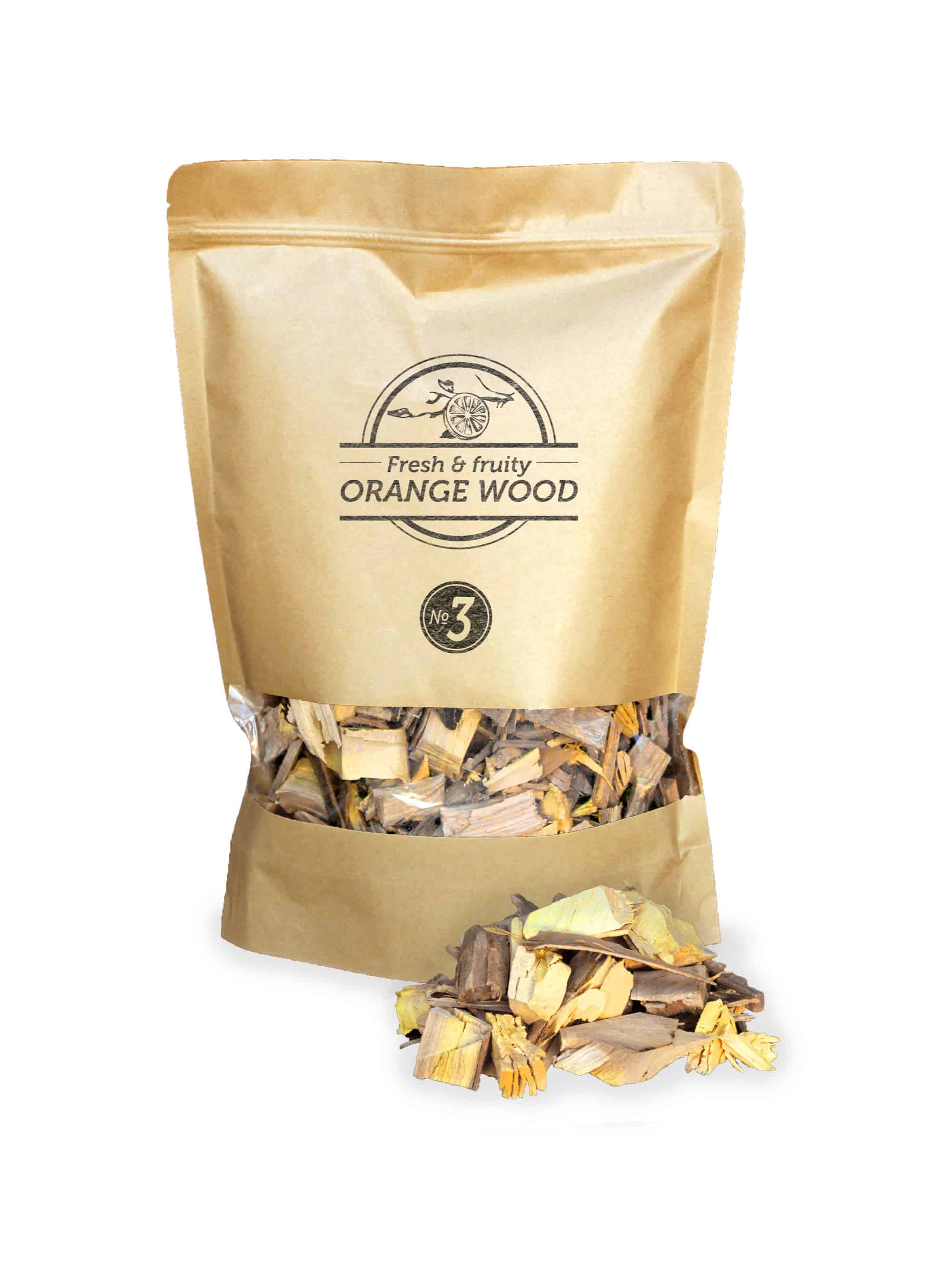 Smokey Olive Wood Orangewood Smoker BBQ Chips Grill