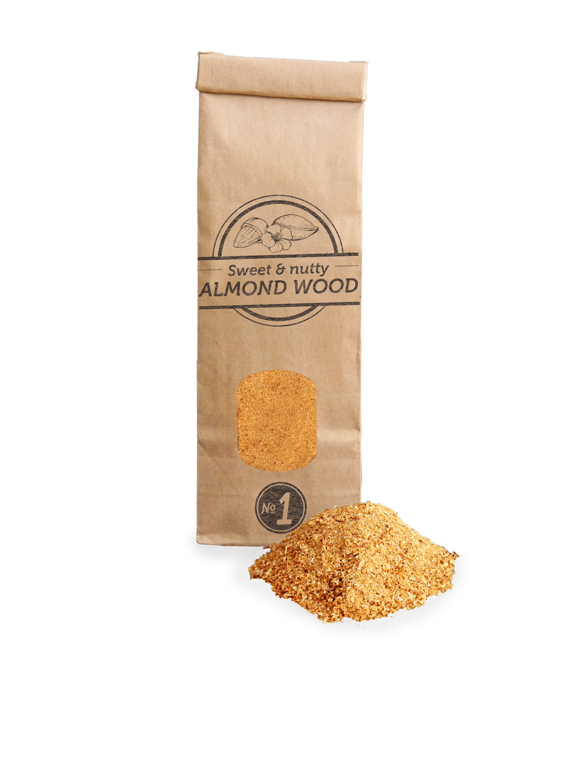 SOW Almond Wood Smoking Dust Small Pack Nº1