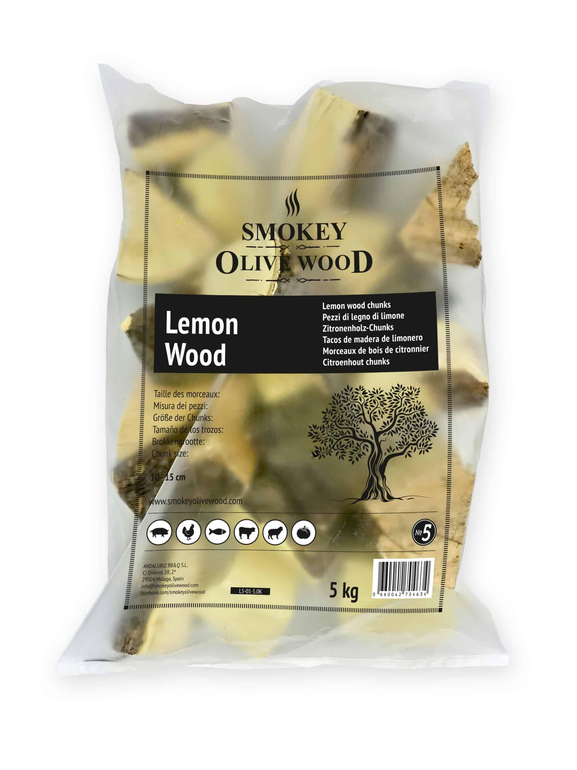 SOW Zitronenholz Chunks Nº5