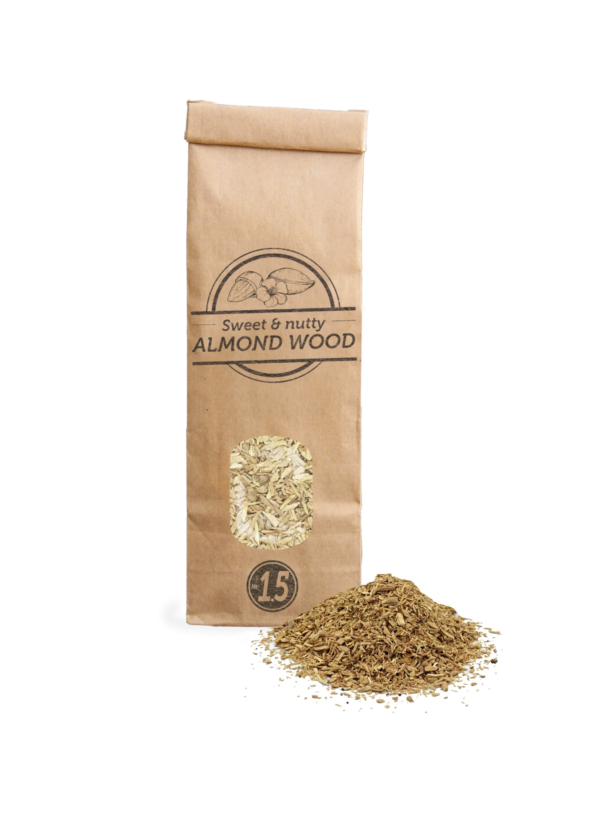 SOW Almond Wood Chips Nº1.5